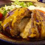 特製Wチーズハンバーグ定食 (平日限定)