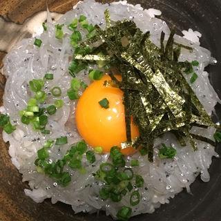 日向灘 生しらす丼(博多 酒佳蔵)