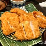 超盛Wチキンかつ定食(とんかつ浜勝 ヨドバシAKIBA店 (はまかつ))