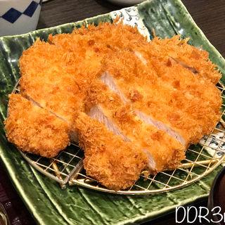 超盛Wロースかつ定食(とんかつ浜勝 ヨドバシAKIBA店 (はまかつ))