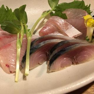 刺身(旬 炭火焼 んまい )