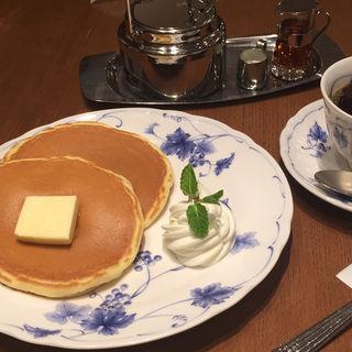 ホットケーキセット(喫茶トリコロール  松坂屋上野店  )