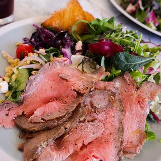 FARM DELI PLATES(ROAST BEEF)(ELLE cafe AOYAMA)