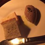 フォアグラと白レバーのムース
