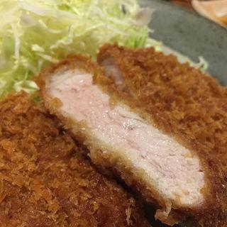 ロースカツ定食(かつ進 三組坂下外神田店 (かつしん))