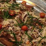 ビントロの焼締め、サラダ仕立て