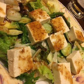 豆腐サラダ(梅心 )