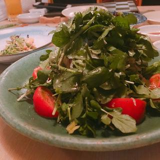クレソンとフルーツトマトのサラダ(松)