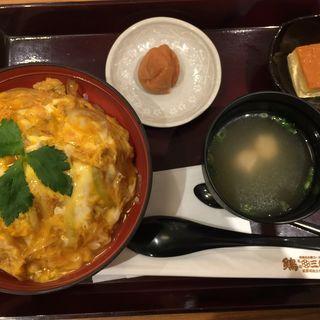 鶏かつ丼(鶏三和 コレド室町店)