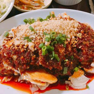 よだれ鶏 定食(晴々飯店 (セイセイハンテン))
