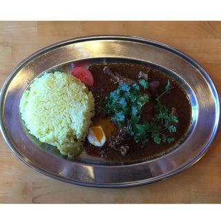 チキンマサラ パクチー+半熟たまごトッピング(mana (マナ))