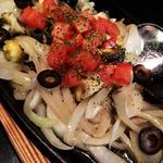巻貝のアンチョビ炒め