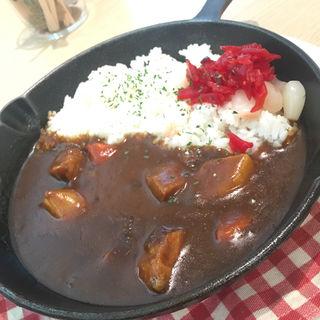 チキンのゴロゴロ野菜カレー(KIT BOX KOTOBUKIYA CAFE & DINER (キットボックス コトブキヤ カフェアンドダイナー))