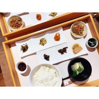 せきやの珍味とご飯(あそらの茶屋 )