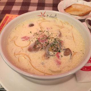 豆乳ギリシャのスパゲッティ(カリーナ イル キャンティ )