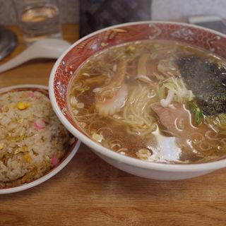 半チャンラーメン(栄龍)