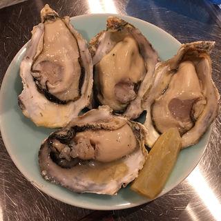 焼き牡蠣(三原豆腐店)