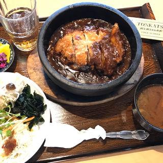 石焼かつカレー(とんかつマ・メゾン 春日井店 )