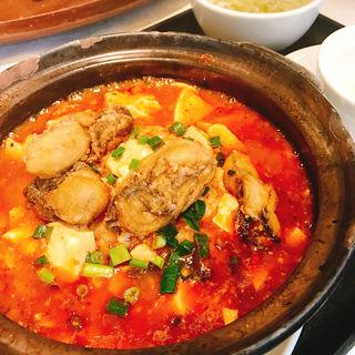 牡蠣麻婆豆腐定食(天厨菜館 渋谷店 (テンツウサイカン))