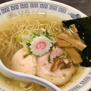 塩中華そば(ソラノイロ (ソラノイロ japanese soup noodle free style))