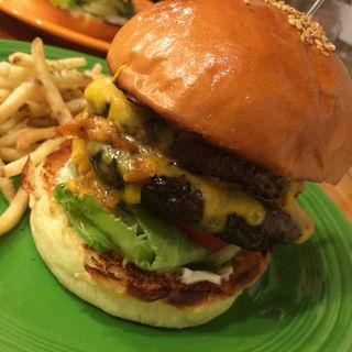 Wチーズバーガー(スティーブン スピル バーガー (Steven Spiel Burger))