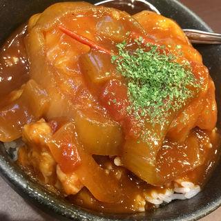 ロールキャベツ丼(炭火 串焼きボンちゃん)