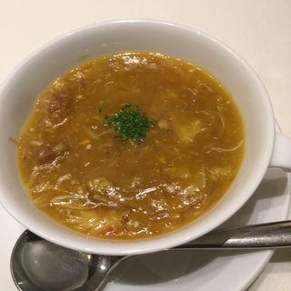 蟹の卵とふかひれの煮込み(四川飯店 名古屋 )