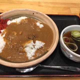 カレーライス(笠丸そば )