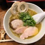 塩(丹波地鶏鶏油・細麺仕様)