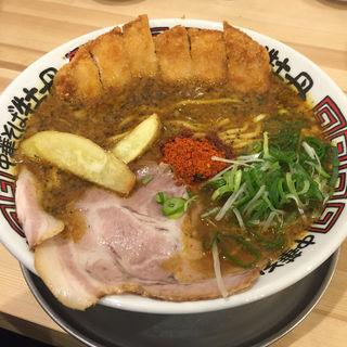 かつカレーら〜めん(中華そば 牡丹 西宮店 )