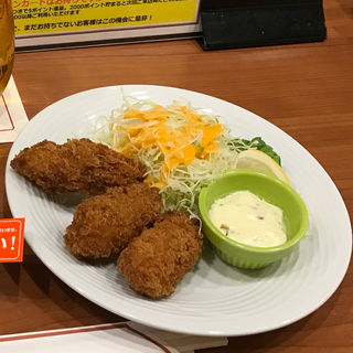 おつまみカキフライ(銀座ライオン 地下鉄名駅店 )