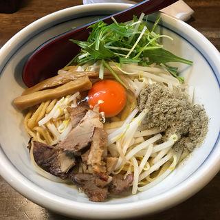 油そば(麺鮮醤油房 周月 )