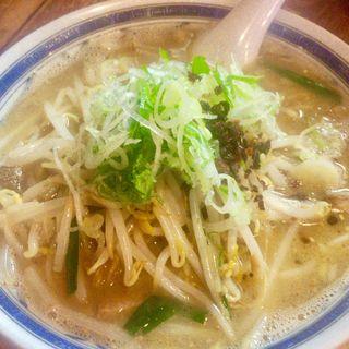 醤油とんこつらぁめん(並)(らぁめん柿の木 鹿児島本店 )