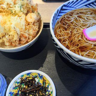 天ぷらそば(手打蕎麦 ばんしゃ )