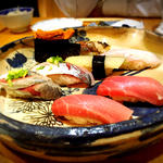 贅沢に代々木八幡で楽しむ寿司三昧。新鮮な魚をご堪能下さい。