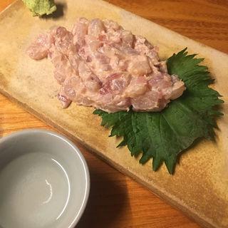カワハギ肝和え(肴や のんき)