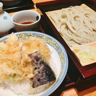 へぎそばミニ丼セット(越後長岡 小嶋屋 伊勢丹府中店9F (えちごながおか こじまや))