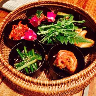 キムチ(韓国酒肴 先斗町 李南河 (リナンハ))