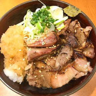 炙りちゃーしゅー丼 (麺屋 翔 品川店 )