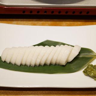 山芋のわさび漬け(君津北口の君鶏 )