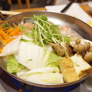 鶏コラーゲン鍋(君津北口の君鶏 )