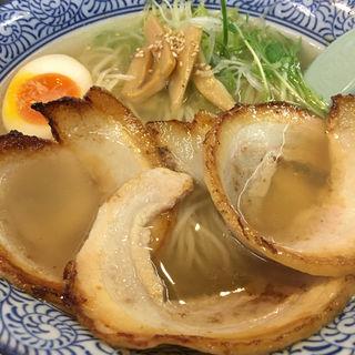 塩チャーシューラーメン(麺屋 青山 (めんや あおやま))