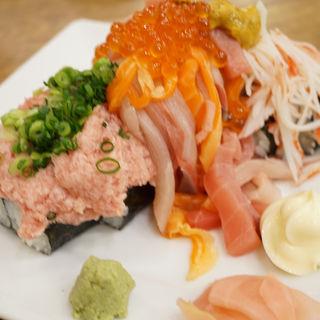 ぶっかけ寿司 こぼれ盛り(大庄水産 京急鶴見店)