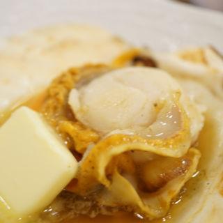 活ホタテ醤油バター焼き(大庄水産 京急鶴見店)