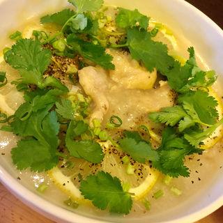国産レモン&パクチー粥(ささみ)(テディアンドダディ )