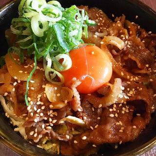 黒毛和牛スタミナ丼(大起園 )