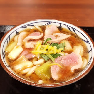 鴨ねぎうどん(並)(丸亀製麺 福岡賀茂店 )