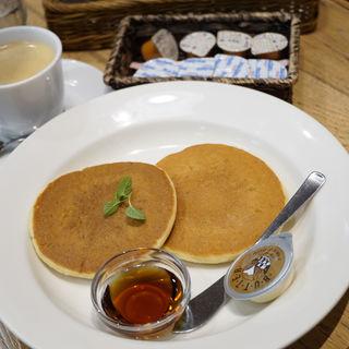 めーぷる・バターパンケーキセット(ブラボー 上野中央口店 (BRAVO))