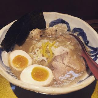特製煮干しそば(しょうゆ)(麺屋音 (オト))