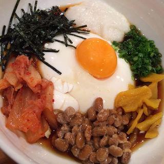 スタミナ豆腐(居酒屋 とみ )